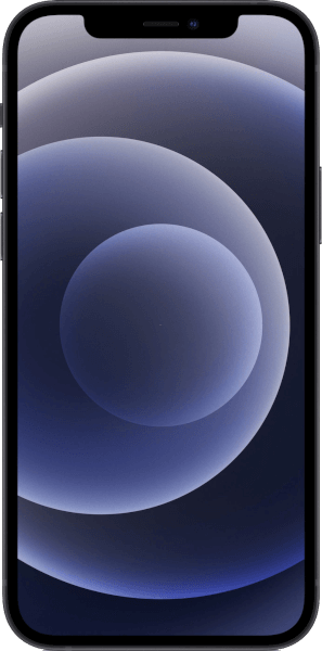 Apple iPhone 12 64GB Schwarz Wie neu