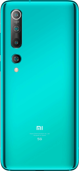 Xiaomi Mi 10 5G 128GB Coral Green Sehr gut