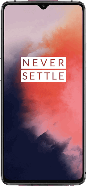 OnePlus 7T 128GB/8GB Frosted Silver Sehr gut